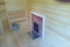 Баня из бруса 5х11 деревня Жилкино 9