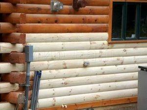 Чем обработать сруб бани снаружи и внутри