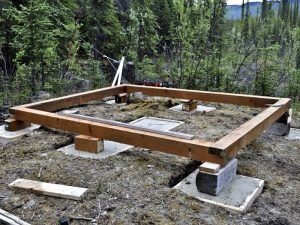 Какой фундамент лучше для бани из бруса