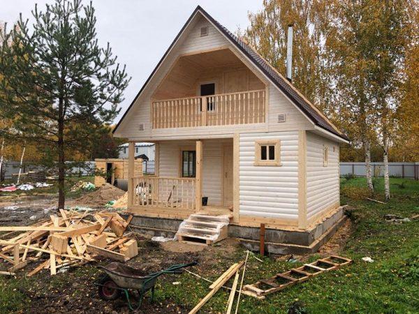 Баня из бруса 6х6 СНТ Козловский Садовод